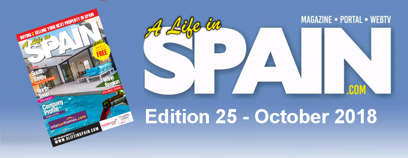 A life in Spain Property Magazine Edition 25 – October 2018 featured Image