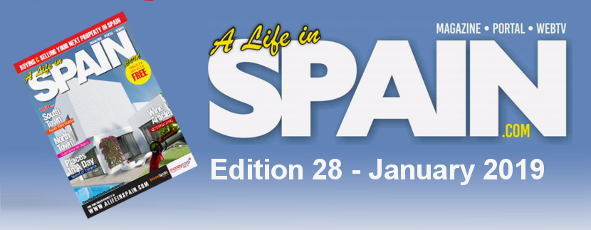 Blog Image for A life in Spain Property Magazine Edition 28 – January 2019 A Life in Spain
