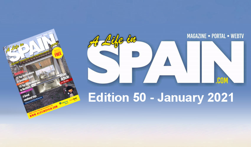 A life in Spain Property Magazine Edition 50 - January 2021 featured Image