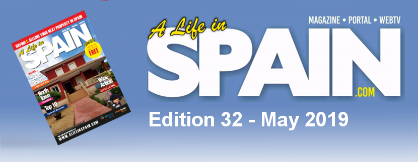 Blog Image for A life in Spain Property Magazine Edition 32 – May 2019 A Life in Spain