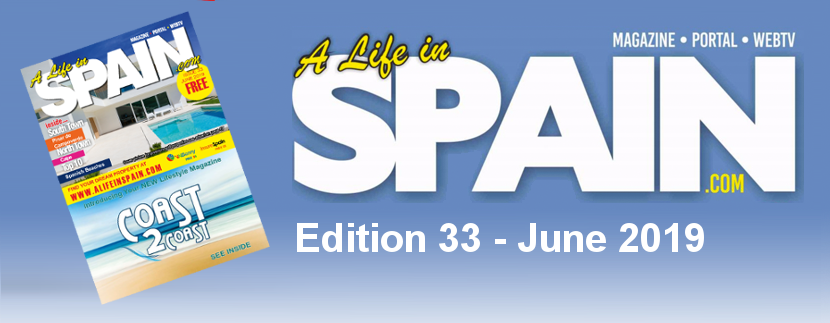Blog Image for A life in Spain Property Magazine Edition 33 – June 2019 A Life in Spain