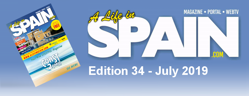 A life in Spain Property Magazine Edition 34 – July 2019 featured Image