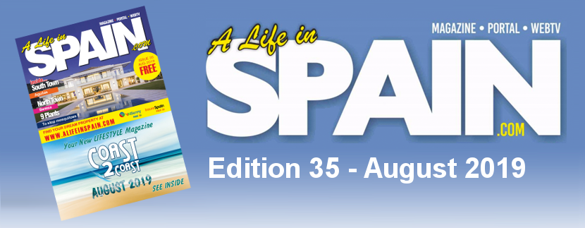 Blog Image for A life in Spain Property Magazine Edition 35 – August 2019 A Life in Spain