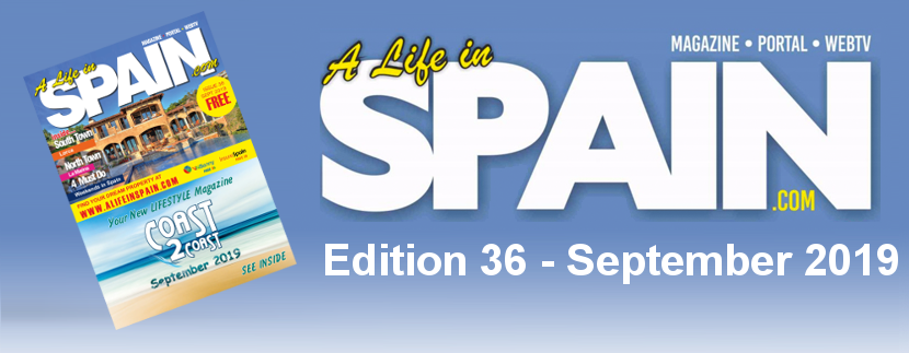 A life in Spain Property Magazine Edition 36 – September 2019 featured Image